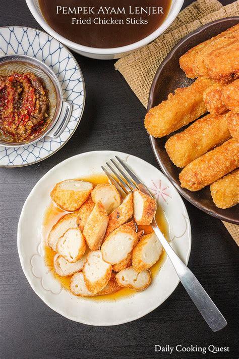 pempek ayam lenjer fried chicken sticks recipe daily