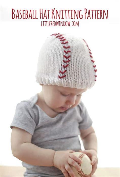 tiny baby hat knitting pattern baseball baby hat knitting pattern window