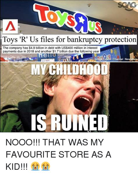 Toys Meme - toys r us files for bankruptcy protection the company has