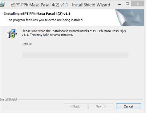 membuat database espt pph 23 cara install aplikasi espt pph masa 4 ayat 2