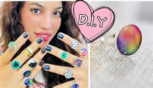 d i y diy glue rings youtube