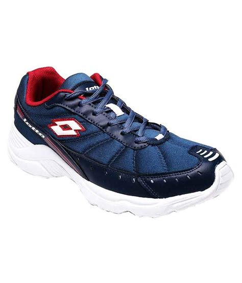 buy lotto navy blue running sports shoes for