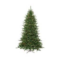 12 pre lit frasier fir artificial christmas tree