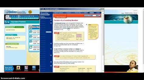 online tutorial on youtube everyday math online tutorial youtube