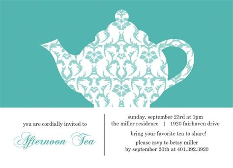 templates for high tea invitations 17 best images about mum s surprise party on pinterest