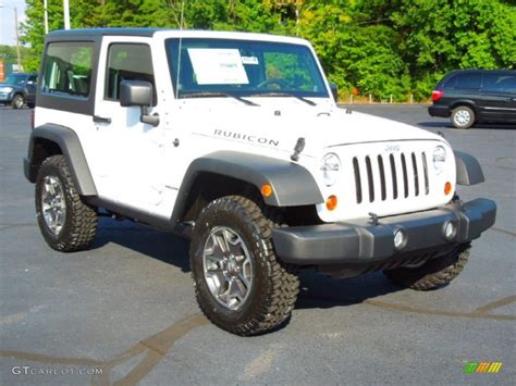 white jeep rubicon image gallery 2013 rubicon white