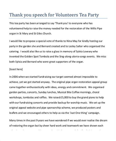 appreciation letter after presentation 7 exles of thank you speeches