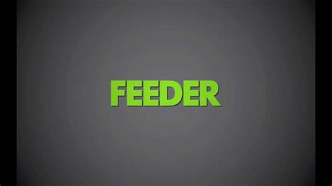 Feeder New Single Feeder Borders The New Single Buy Now From