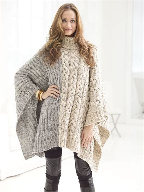 knit poncho 599 best poncho cape shoulderwarmer images on