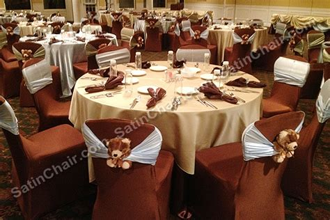 Wedding Chair Cover Rentals Chicago