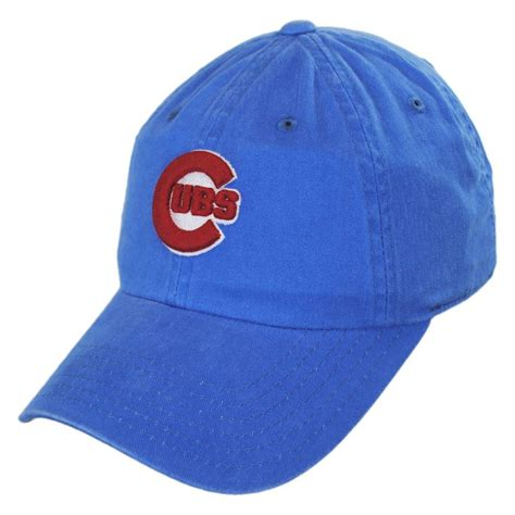 american needle chicago cubs mlb raglan strapback baseball