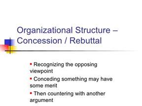 concession and rebuttal ospi