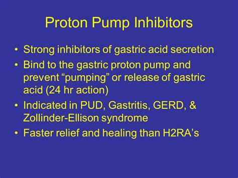 pantoprazole proton inhibitor pharmacology in nursing gi medications ppt