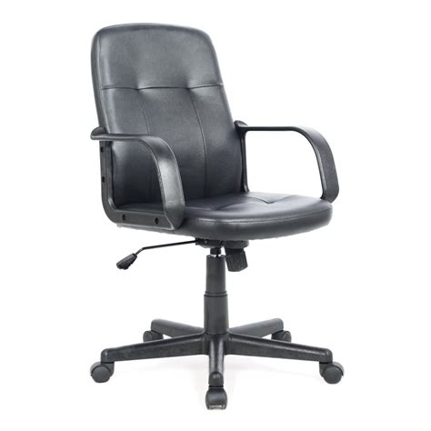 Office Chairs Lowes Corliving Leatherette Office Desk Chair Lowe S Canada