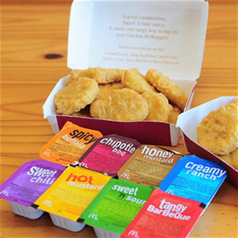 McNugget Dipping Sauces - McDonalds Secret Menu - #HackTheMenu Arby S Menu Prices