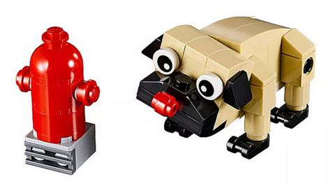 lego pug lego 2018 polybags official images the brick fan the brick fan