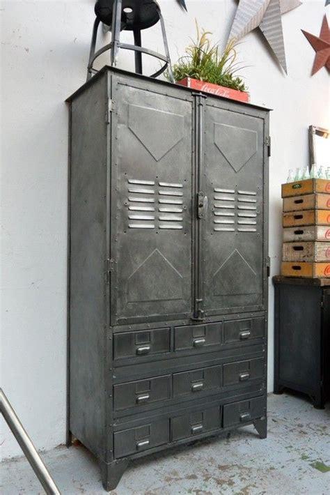 armoire industrielle vintage armoire industrielle vers 1940 industrial steunk