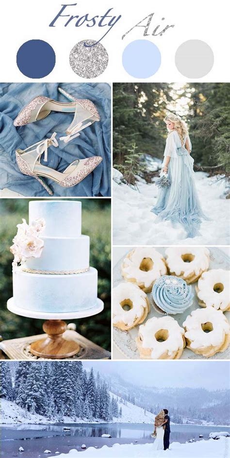 5 winter wedding color schemes so they ll give you the chills wilkie