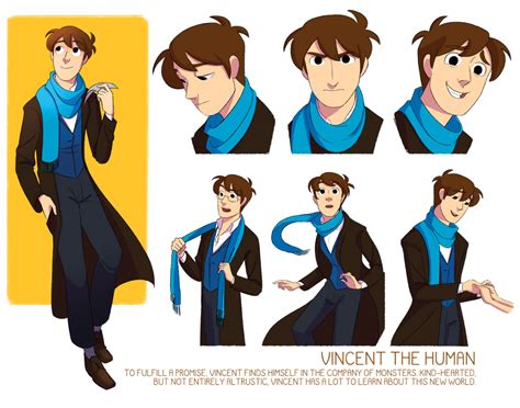 animation character layout illustration my art animation character design the lonely