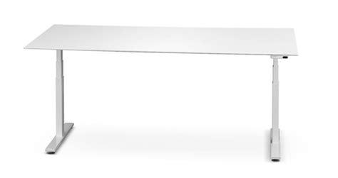 scrivania altezza regolabile scrivanie regolabili in altezza linekit linekit