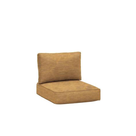 outdoor sectional replacement cushions brown jordan northshore patio middle armless sectional