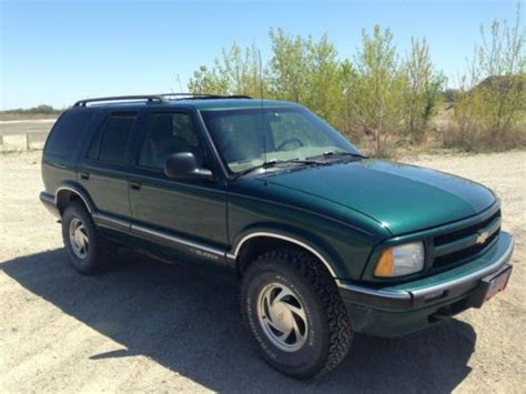 used 1997 chevrolet blazer photos purchase used 1997 chevrolet blazer lt sport utility 4 door 4 3l in emporia kansas united states