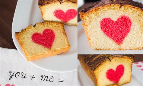 ein kuchen valentinstag ein kuchen mit s 252 223 er 220 berraschung lalafab