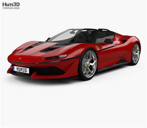 ferrari j50 ferrari j50 2016 3d model hum3d