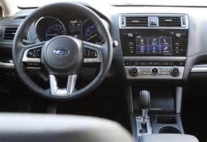 Subaru Legacy Interior Car Pro Test Drive 2017 Subaru Legacy Sport Review