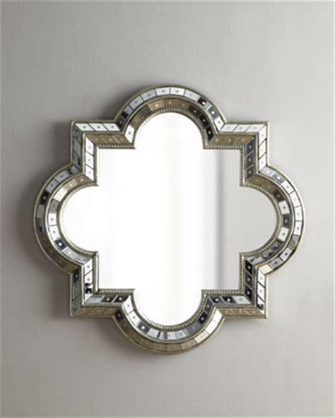 copy cat chic horchow quatrefoil mirror