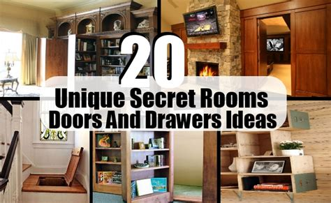 secret ideas door rooms 20 unique secret rooms doors and drawers ideas
