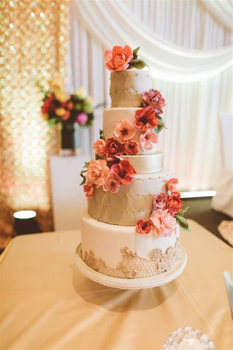 beautiful ideas  perfect wedding cake decoration