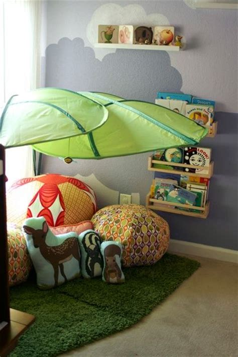 ikea leaves 1000 ideas about kid reading nooks on pinterest