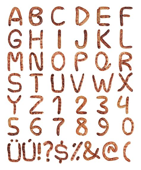 Best Handmade Fonts - a gallery of handmade non traditional fonts