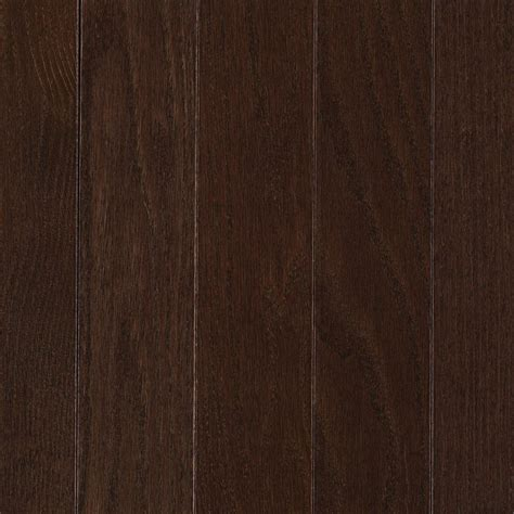 mohawk hardwood flooring mohawk raymore oak chocolate 3 4 in thick x 2 1 4 in