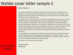 Fabricator Welder Cover Letter by Welder Cover Letter