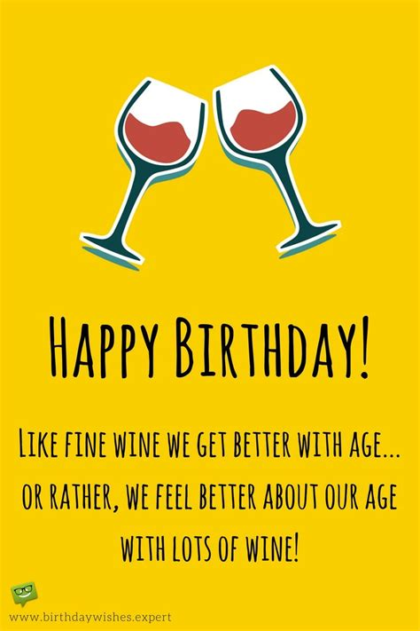 wine birthday meme the funniest wishes to make your wife smile on her birthday