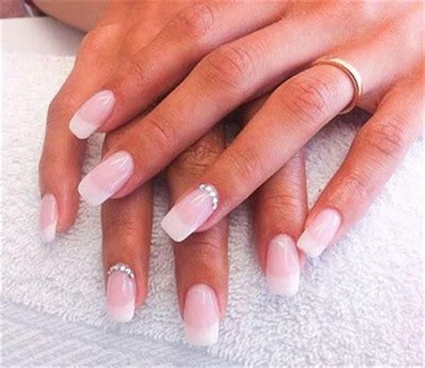 tutorial nail art french gel 20 french gel nail art designs ideas trends stickers