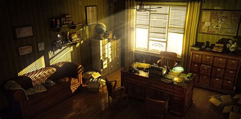 The S Room by Detective 180 S Office By Eugenio Garc 237 A Villarreal