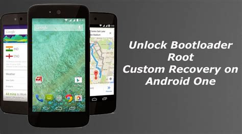 bootloader android unlock bootloader root and install custom recovery on