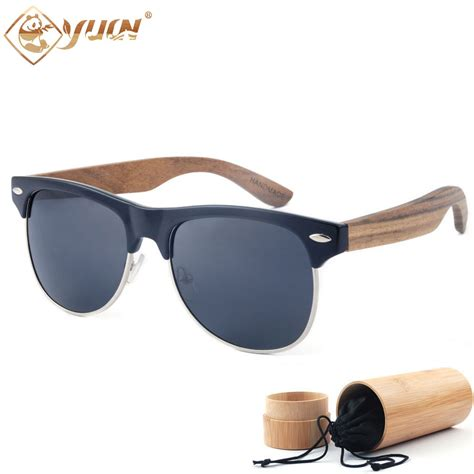 Handcrafted Glasses - new 2017 brand designer sunglasses handmade wood arms