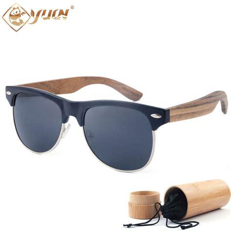 Handmade Sunglasses Brand - new 2017 brand designer sunglasses handmade wood arms