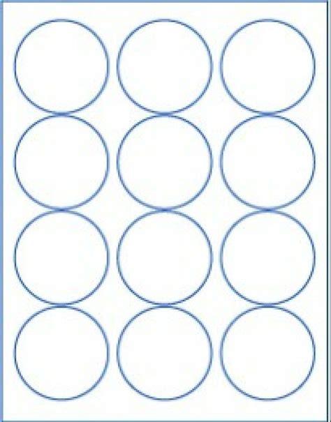 blank printable envelope seals round 2 5 quot labels white matte craft circle envelope
