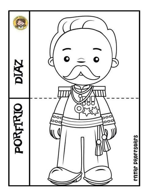 pin para colorear revolucion mexicana porfirio diaz portal 33 mejores im 225 genes de revoluci 243 n mexicana en pinterest
