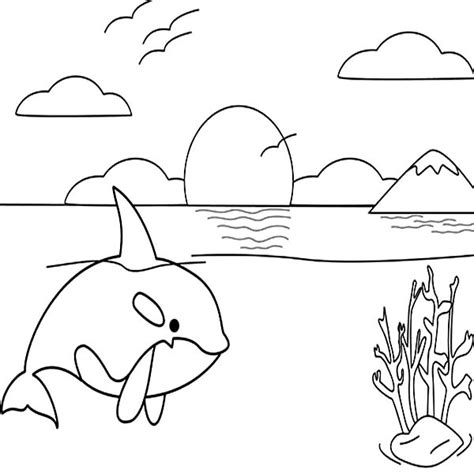 sunset coloring pages sunset drawings and coloring coloring pages