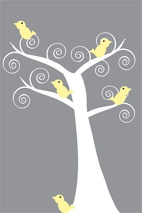 grey wallpaper yellow birds pinterest the world s catalog of ideas