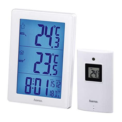Wanduhr Mit Wetterstation 380 by Garten Thermometer Messinstrumente Produkte Hama