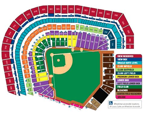 at t park seating map sf giants seating chart at t park seating chart mlb