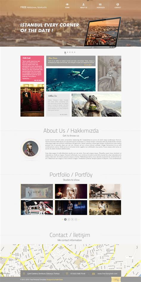 pinwall modern website template psd freebie no 103 latest free web page templates psd 187 css author