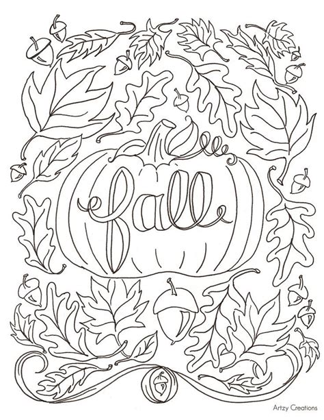 printable fall coloring pages 25 best fall coloring pages ideas on pumpkin